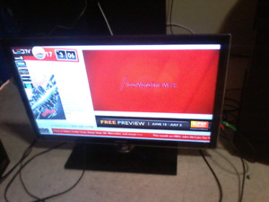 32 inch tv Samsung less than two years old $150