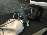 Travel Iron and Kettle