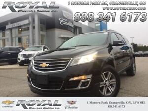 2017 Chevrolet Traverse 2LT  0% UP TO 84 MONTHS * LEATHER * NAVI