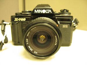 Minolta X700 35mm camera, 28mm F2.8