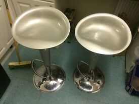 Used bar stool in fair condition £10 for both
