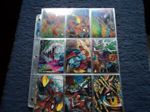 SPIDER-MAN TRADING CARDS.