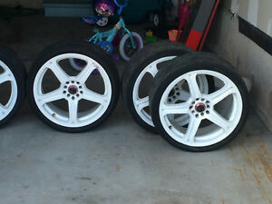 18 Inches White rims must go