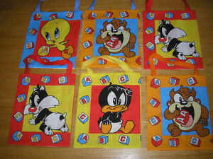 Looney Tunes Children's Tote Bags - for books, toys clothing