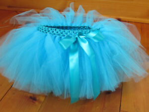 Little Girls Tutus-Very full with Satin Bow-Various sizes -Ages