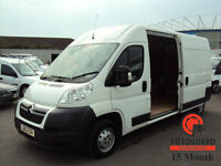2012 CITROEN RELAY 2.2HDi ( 130 ) 35 L3H2 Enterprise WHITE DIESEL VAN