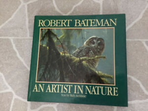Robert Bateman Nature book