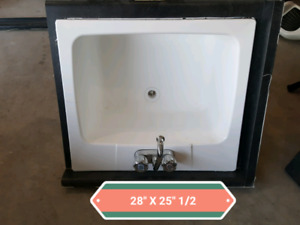 Counter tops sinks and faucets