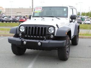 2016 JEEP WRANGLER $3,000 Below Market Value!