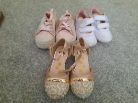 Size 6 girls shoe bundle