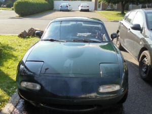 Mazda Miata 1991  British Racing Green