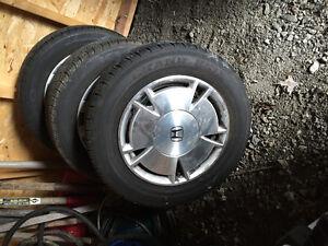 2009 all season Honda Civic tires with aluminum rims