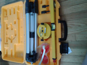 Selling excellent condition Johnson laser level