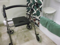 Plus size Rollator walker