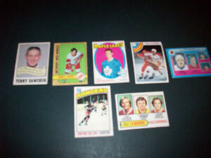 WANTED  --  HOCKEY CARDS  ( 1960'S - 70'S )