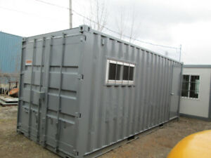 20' shipping container office unit