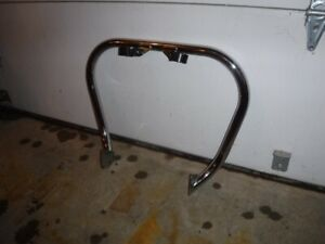 Honda Vt1300 highway crash bar with two clamps