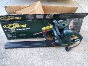 Electric Hedge Trimmer (Yard Works)