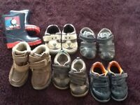 Footwear bundle. Boys. 6 Pairs size 5 & 5.5