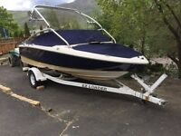 Regal 1900 bowrider wakeboard tower