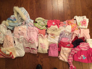 Girls clothing 3-6 mos.  Sold as a lot. London Ontario image 1