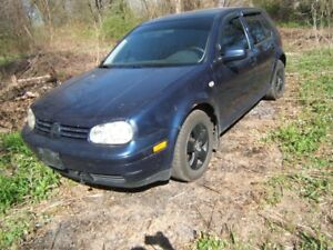 2004 vw golf engine and manual trans