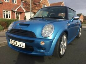 MINI John Cooper Works 1.6i 16v Cooper S (blue) 2003