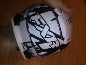 Dirt bike helmet basically brand new
