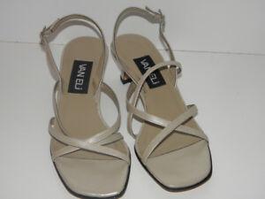 Brand New VANELI Pearl Nappa Leather Heel Shoes - 3 Sizes