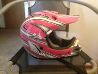 Brand New Youth large Raider Helmet