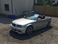 BMW 330 M SPORT CONVERTIBLE 80k manual