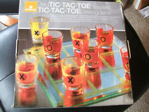 """Tic-Tac-Toe """"Shooters"""" Drinking Game-Reduced London Ontario image 1"""