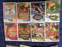 Wii games and ps2 games