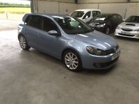2010 10 Reg Volkswagen Golf 2.0 GT TDI 6 speed (140 bhp) guaranteed cheapest in country