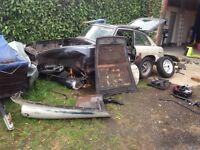 MGBT Chrome Bumper 1980 Breaking Spares or Repairs