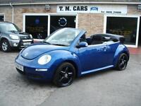 2008 58 Volkswagen Beetle 1.4 Luna Convertible **60k / NEW MOT**