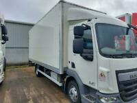 DAF TRUCKS LF150-75 20ft box tailift 4.3 metre wheelbase one owner only 172k klm