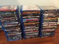 lot de dvd et bluray