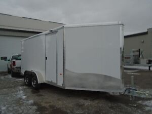 2017 NEO 7' X 18' Round Top Sport Tandem Axle Trailer Serial # 1