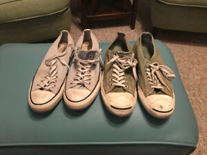 Converse All Star and Jack Purcell