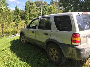 2005 Ford Escape Black SUV, Crossover