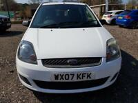 2007 FORD FIESTA STYLE CLIAMTE D WHITE
