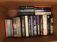 Job lot of 50 assorted books