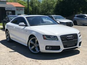 2010 Audi A5 2.0 T S-Line Quattro AWD Leather Sunroof