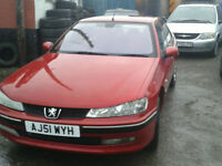 2001 Peugeot 406 2.0 DIESEL ( NOW £200 ono SPARES REPAIRS ONLY )