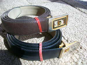 Genuine new leather belts