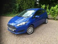 2013/13 Ford Fiesta 1.25 ( 82ps ) Petrol 3 Door Style BLUE