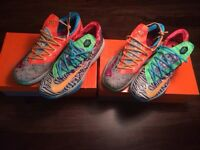 Nike what the kd 6 size 13 and 14
