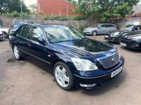 2004 Lexus LS 4.3 430 4d 279 BHP Saloon Petrol Automatic