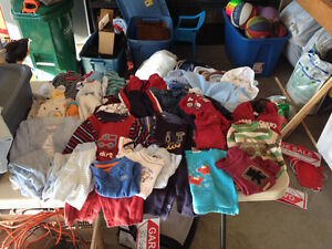 Lot 6 month baby boy clothes